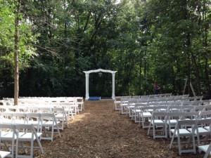 Oshkosh WI Wedding Set Up Hickory Oaks Campground 01